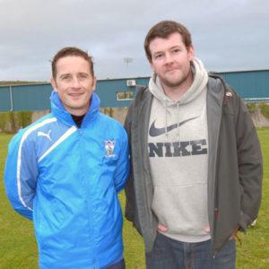 Senior Team Manager Darren Mullen and