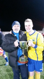 Manager Gary Redpath (Left)