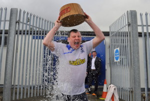 Johnny Ferns Ice Bucket Challenge, Brendan Monaghan Photography.