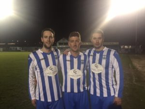 Goal Scorers Thomas McCann, Jimmy Walker Neil Mullen.