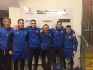 Ryans Rockets: Mickey Keenan, Ian Curran, Mark McCabe, Peter Murphy, Neil Mullen & Ryan Quinn