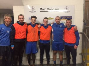 Brians Bombers: Ray Byrne, Brian Hobden, Sean Mooney, Sean McMullan & Mark Hughes