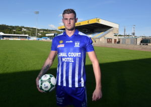 John Grant signs at the Showgrounds