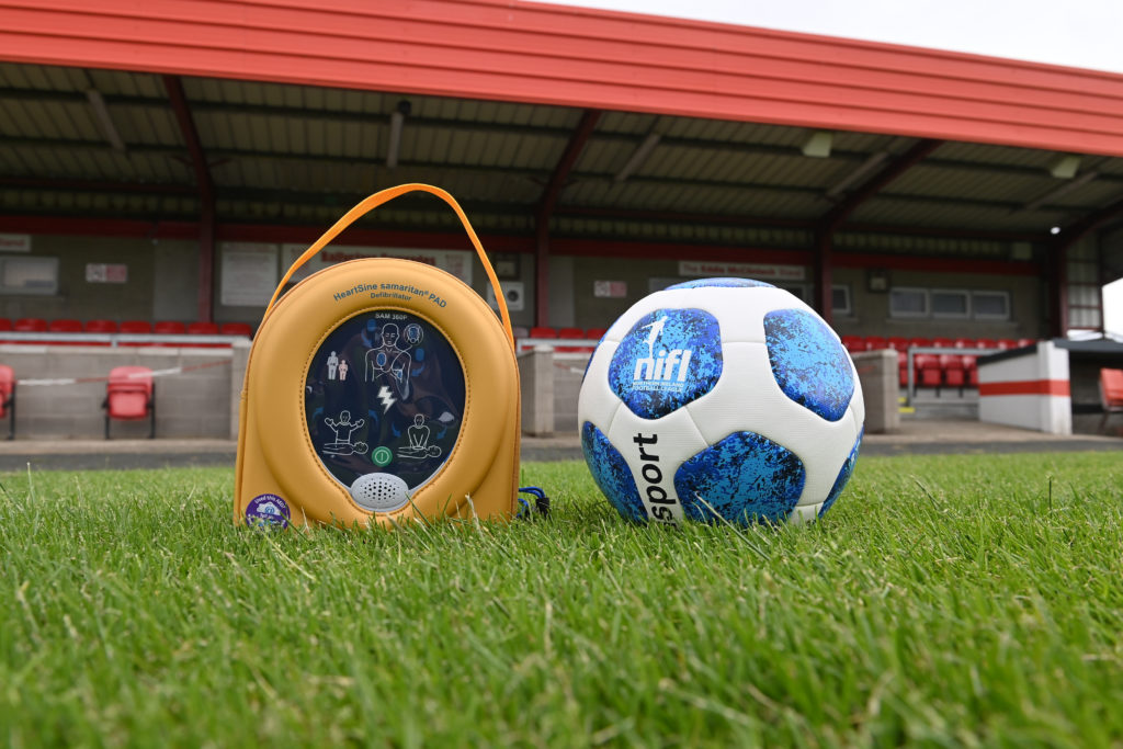NIFL TO SUPPLY NEWRY CITY WITH NEW DEFIBRILLATOR